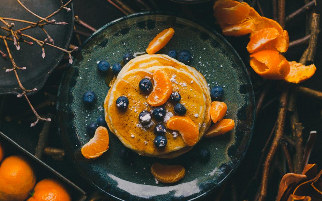 Pancakes à l'orange